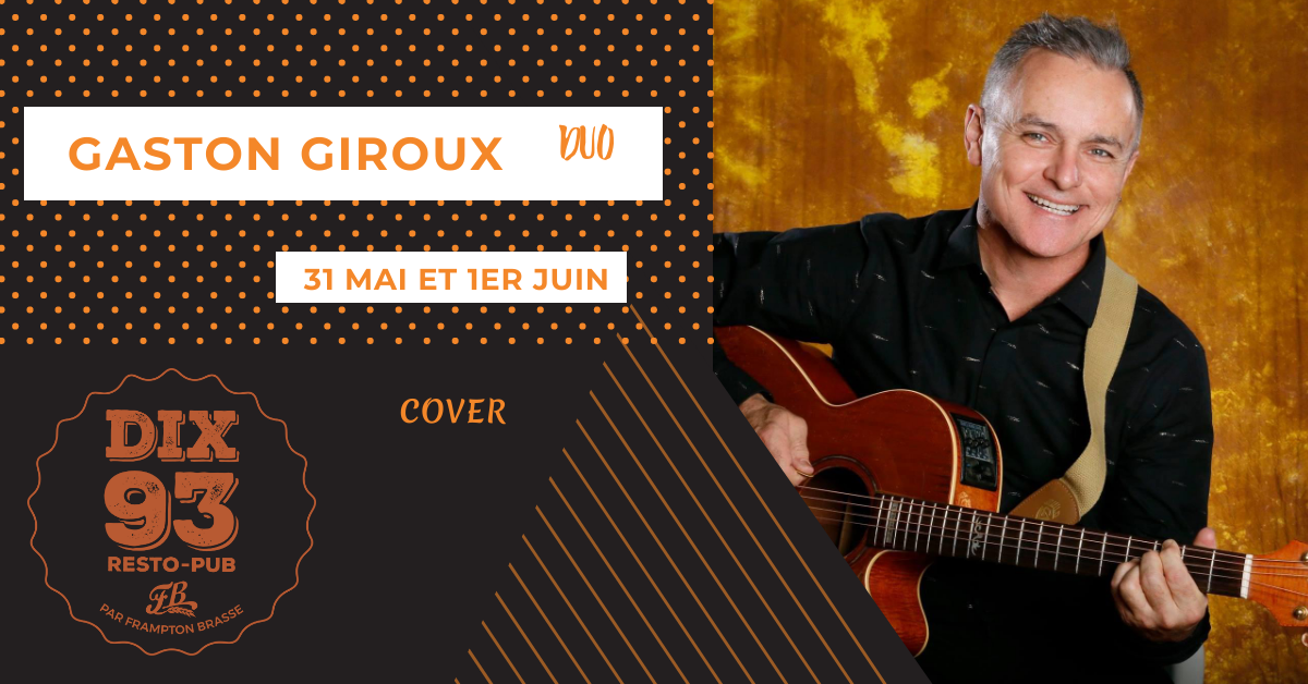 Gaston Giroux en formule duo